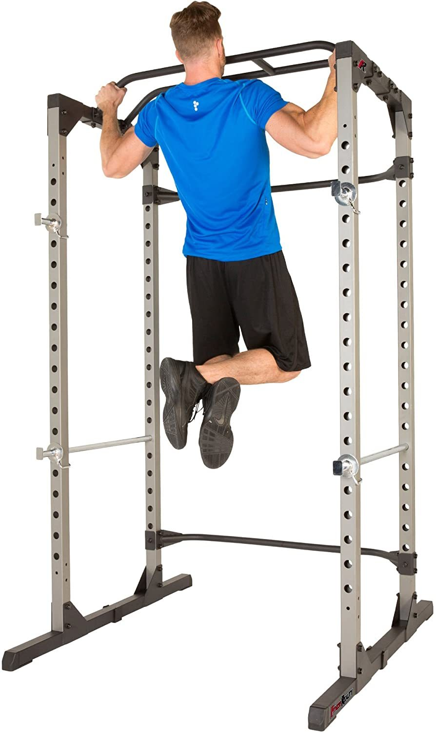 810XLT Super Max Power Cage with Optional LAT Pull-Down Attachment and Adjustable Leg Hold-Down