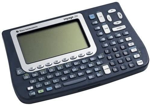 VOY200/PWB Graphing Calculator