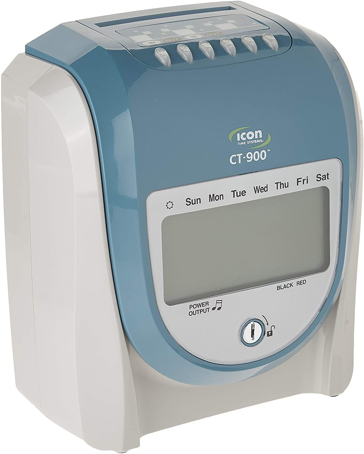 CT-900 Calculating Time Recorder with Free Lifetime Support and Operational Battery Backup