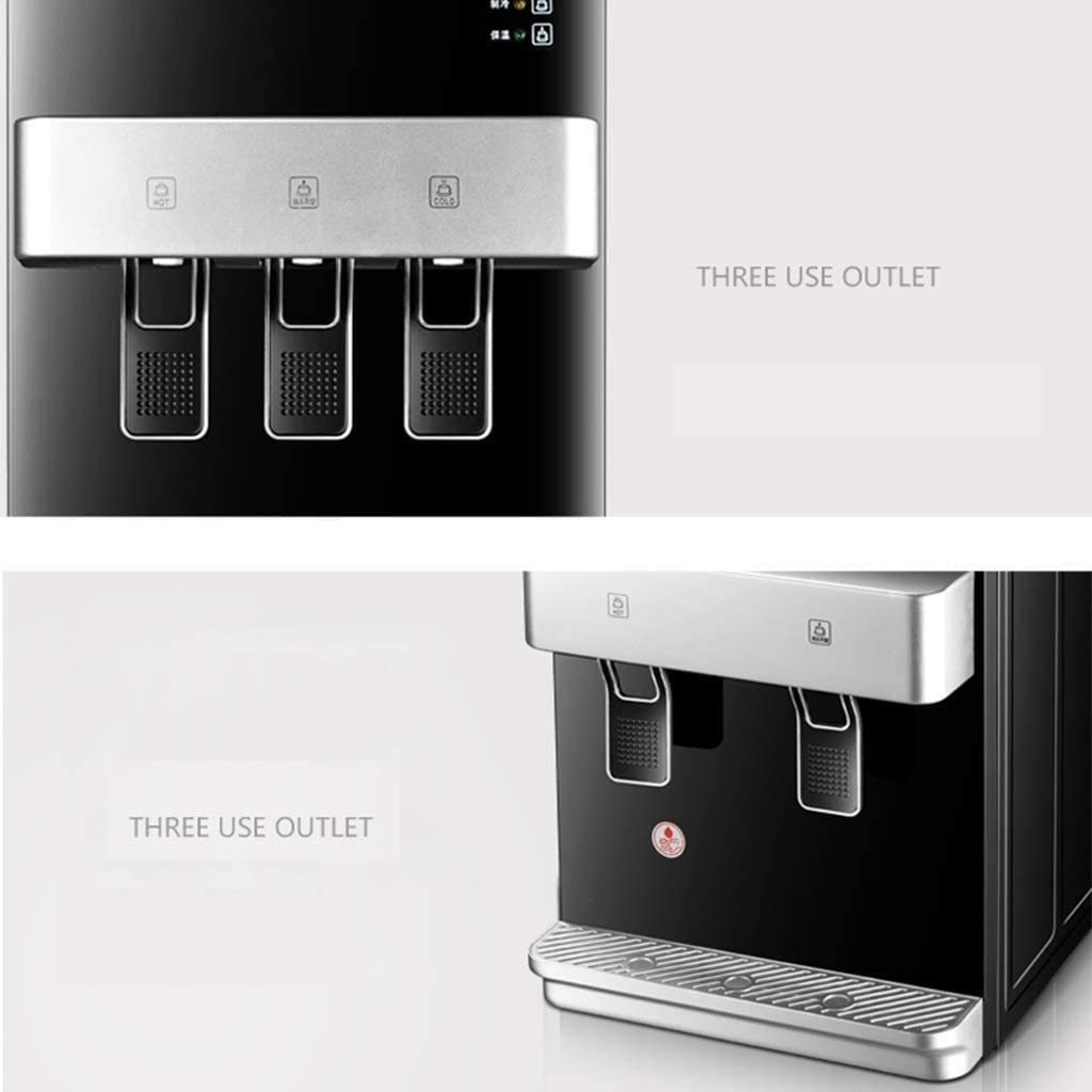 Countertop Water Dispenser Hot and Cold, Fully Automatic Water Cooler Dispenser and Hot Drink Dispenser, Top Loading Dispenser for Home Office