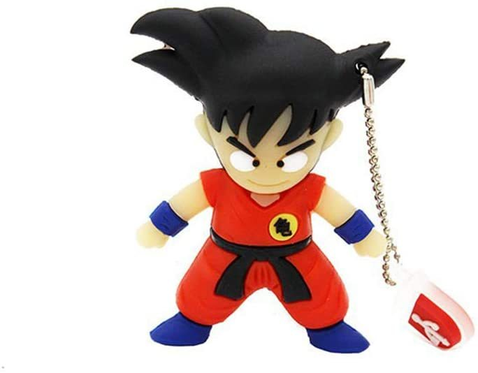 USB Flash Disk USB Thumb Drive Cartoon Anime Sun Wukong U Disk 4G / 8G / 16G / 32G / 64G / 128G USB2.0 Portable (64GB,A 8pcs)