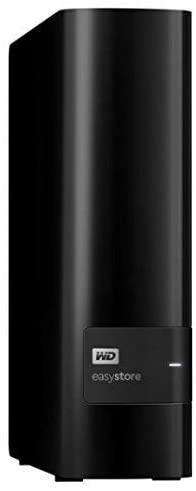SH2000GB5YR WD Easystore 10TB External USB 3.0 Hard Drive Bundle with 32GB Easystore USB Flash Drive, Black