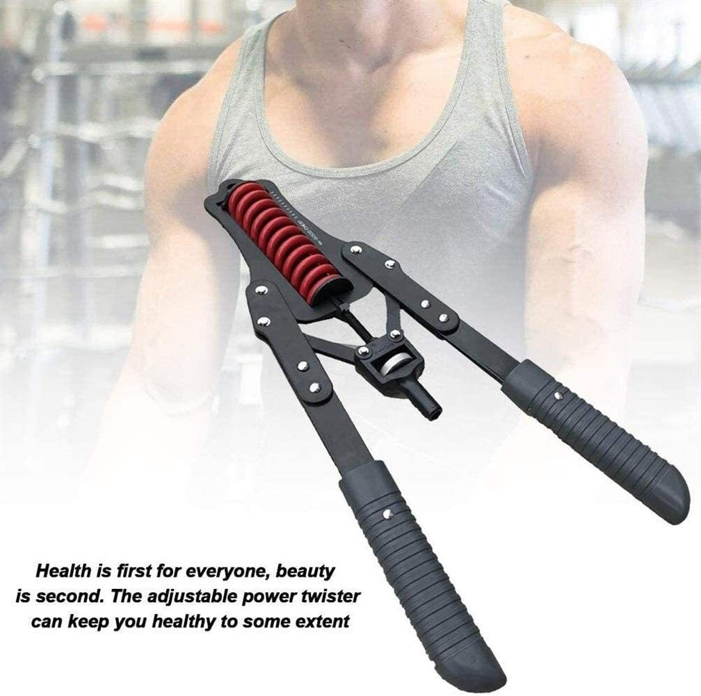 Humflour arm Trainer, Adjustable Power Twister arm Forearm Exerciser Chest Expander arm Chest Muscle Training for The Budget of Men