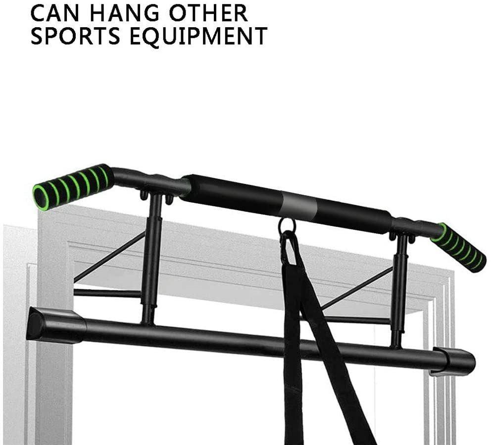 SIEBIRD Pull Up Bar Doorway Trainer, Angled Grip Home Gym Exercise Equipment, Door Exercise Bar Upper Body Workout Bar