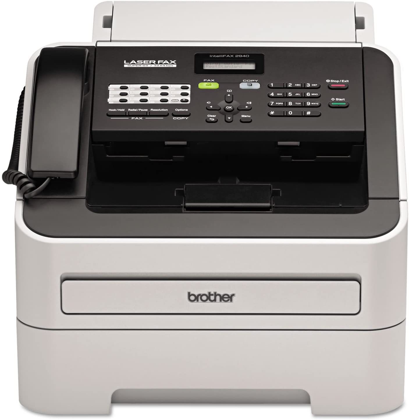 BRTFAX2940 - intelliFAX-2940 Laser Fax Machine