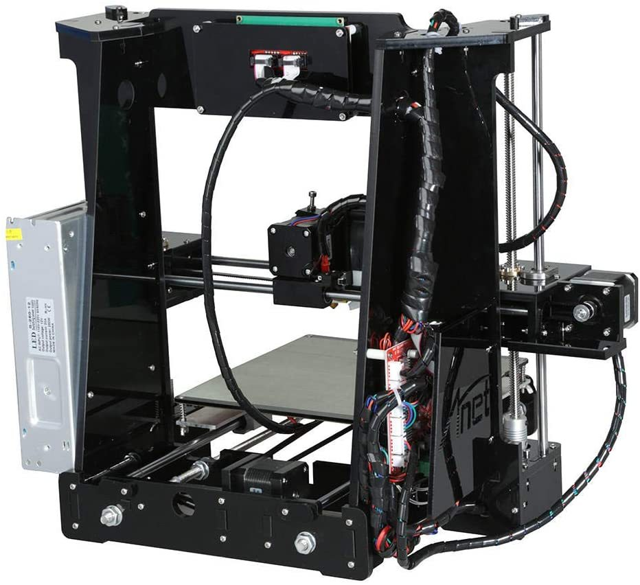 A8 with Included Filament - Prusa i3 DIY 3D Printer - Prints ABS, PLA, and Lots More