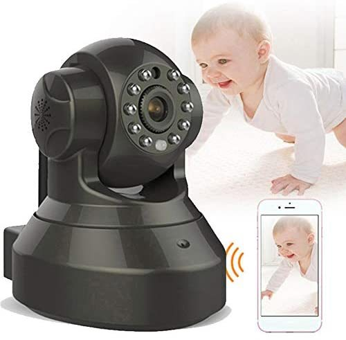 1080P Wireless Video Baby Monitor High Resolution Baby Nanny Security Camera WiFi Connect Remote Control/Two Way Audio for Family Safety