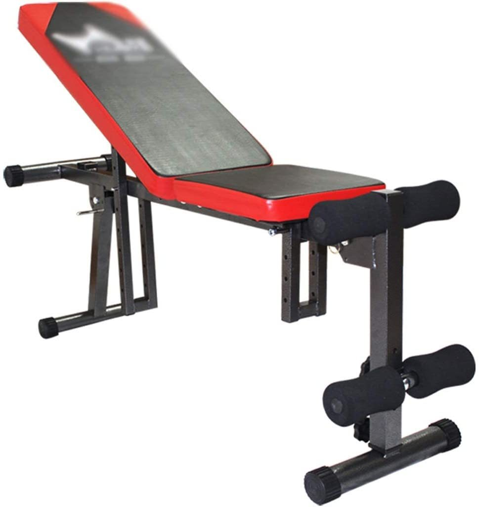 Sit Up Bench Multifunctional Adjustable Supine Board, Home Training Dumbbell Bench for Men and Women, Abdominal Muscle Board Fitness Equipment, Weight Bearing 200KG