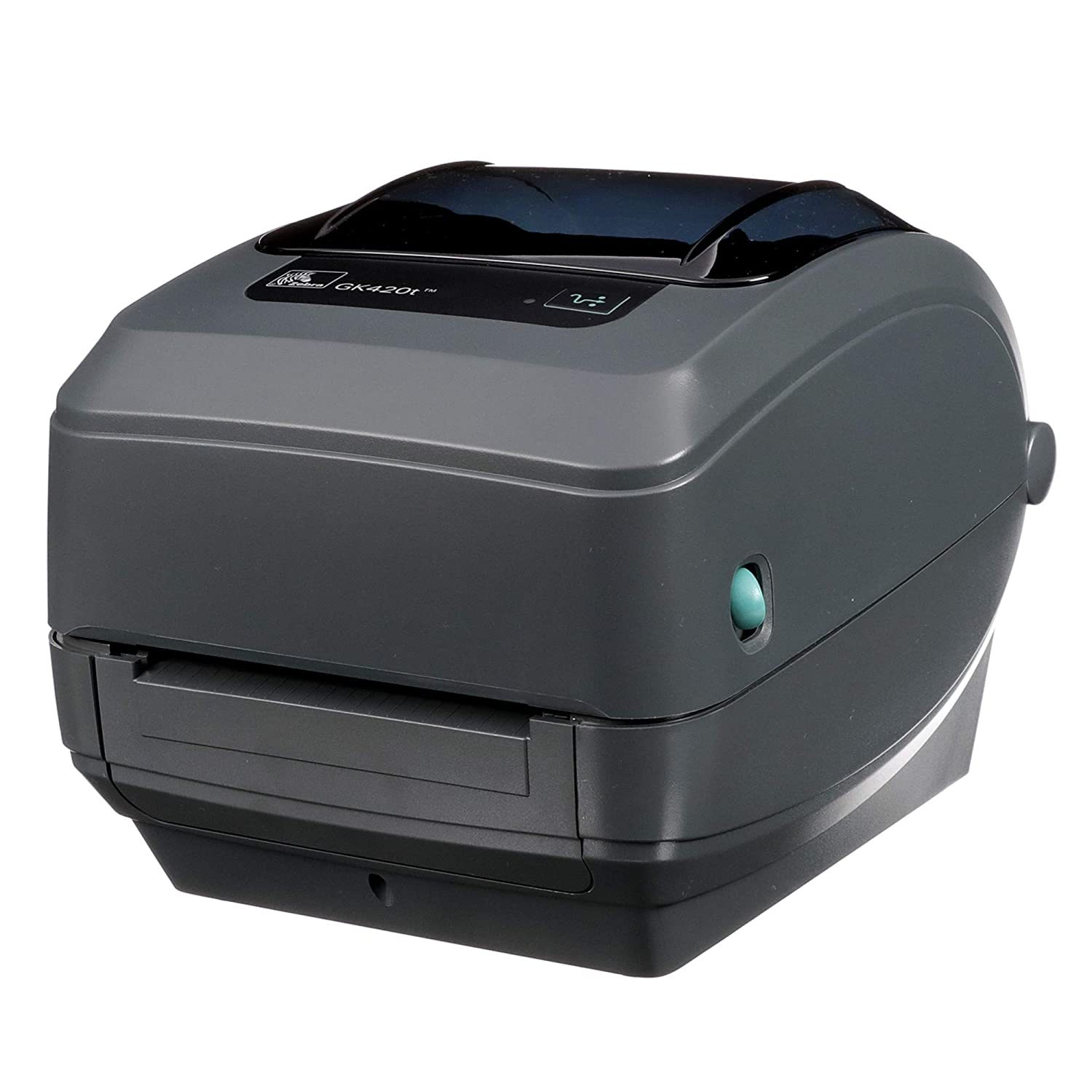 '- GK420t Thermal Transfer Desktop Printer for labels, Receipts, Barcodes, Tags, and Wrist Bands - Print Width of 4 in - USB, Serial, and Parallel Connectivity - GK42-102510-000