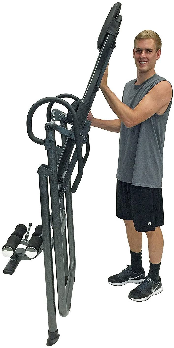 ITM4.5 Adjustable Heat & Massage Inversion Table - Heavy Duty up to 300 lbs.