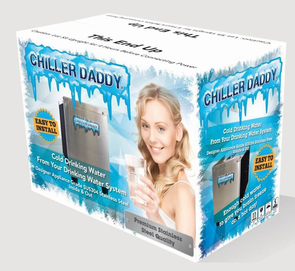 "Under Sink Water Chiller For Home or Office - 304 Stainless Steel""Inside & Out"""