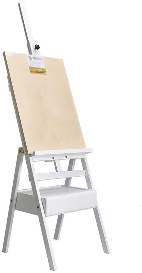 Easel, Wooden with Drawer Sketch Frame Set Bracket Easel