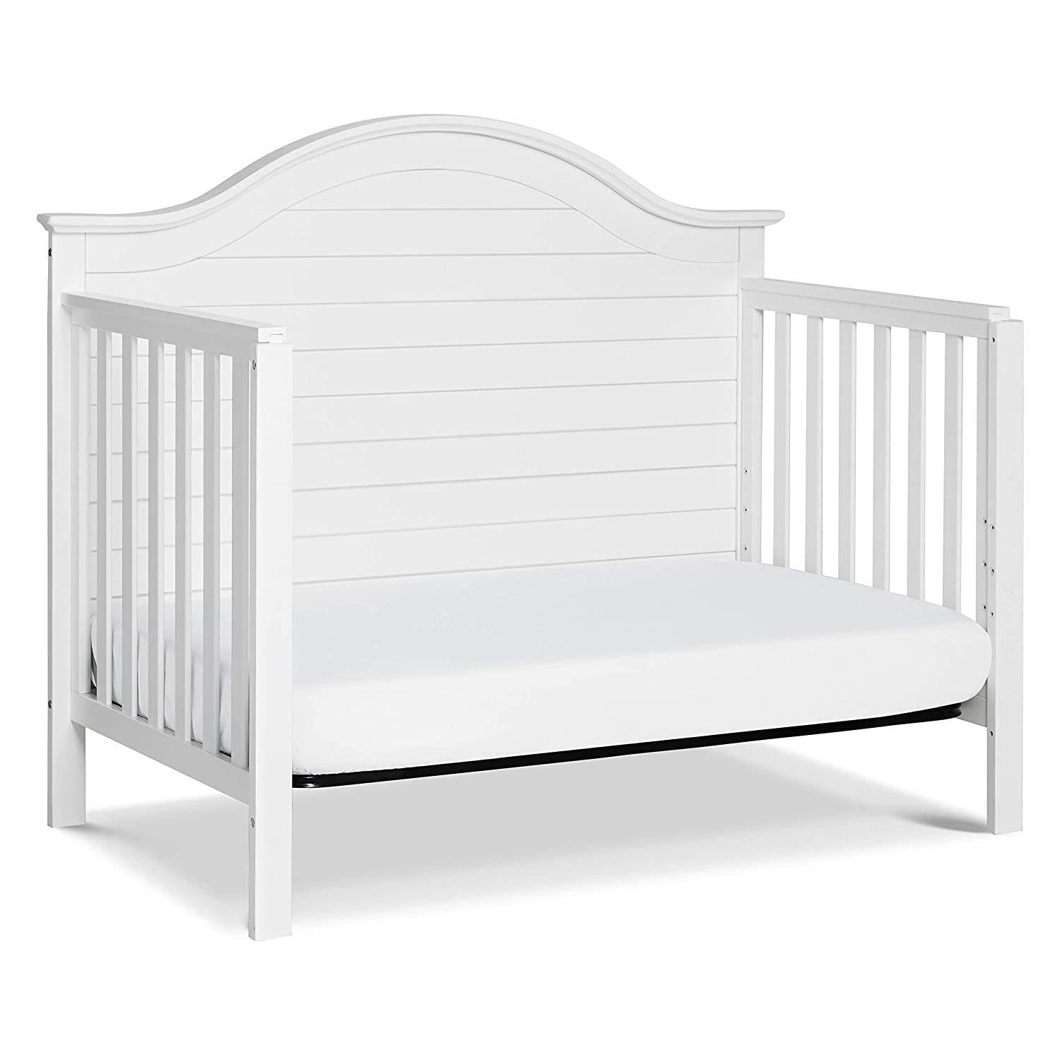 Convertible Crib in White | Greenguard Gold Certified