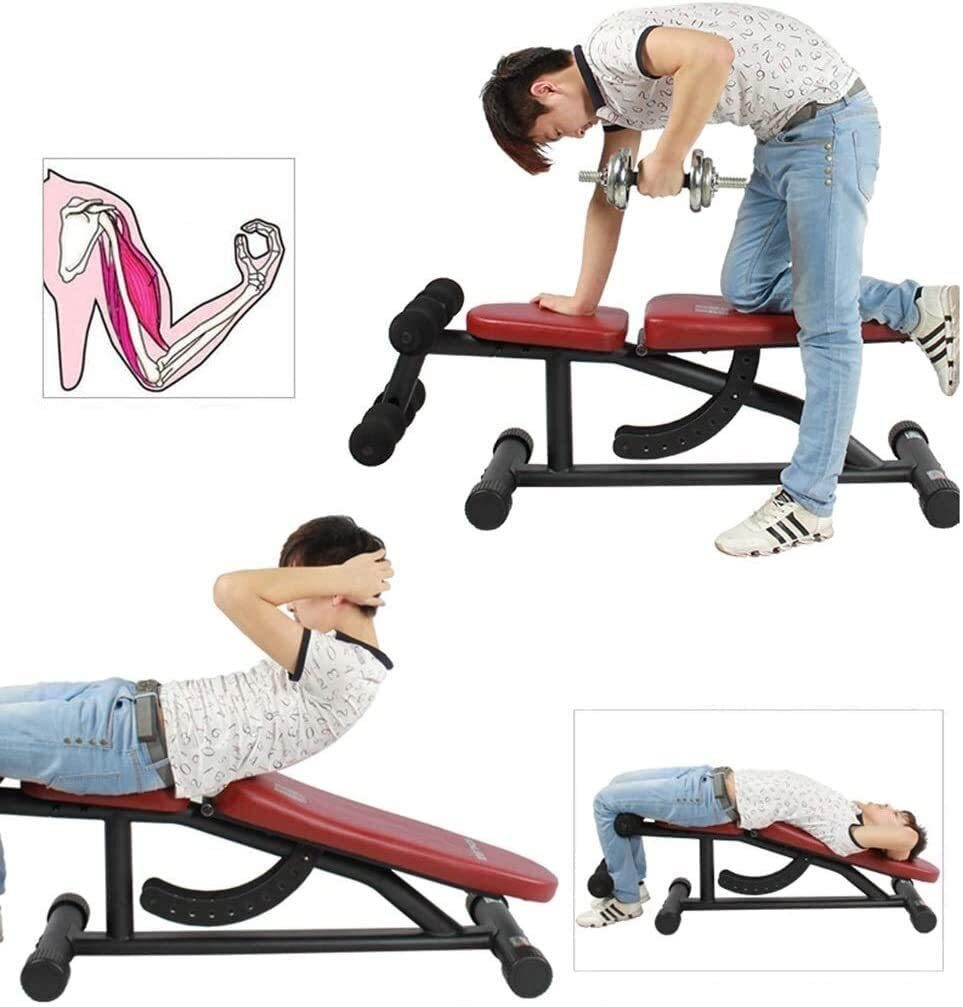 Adjustable Weight Bench Home Small Bird Fitness Equipment Supine Board Abdomen Machine Abdominal Chair