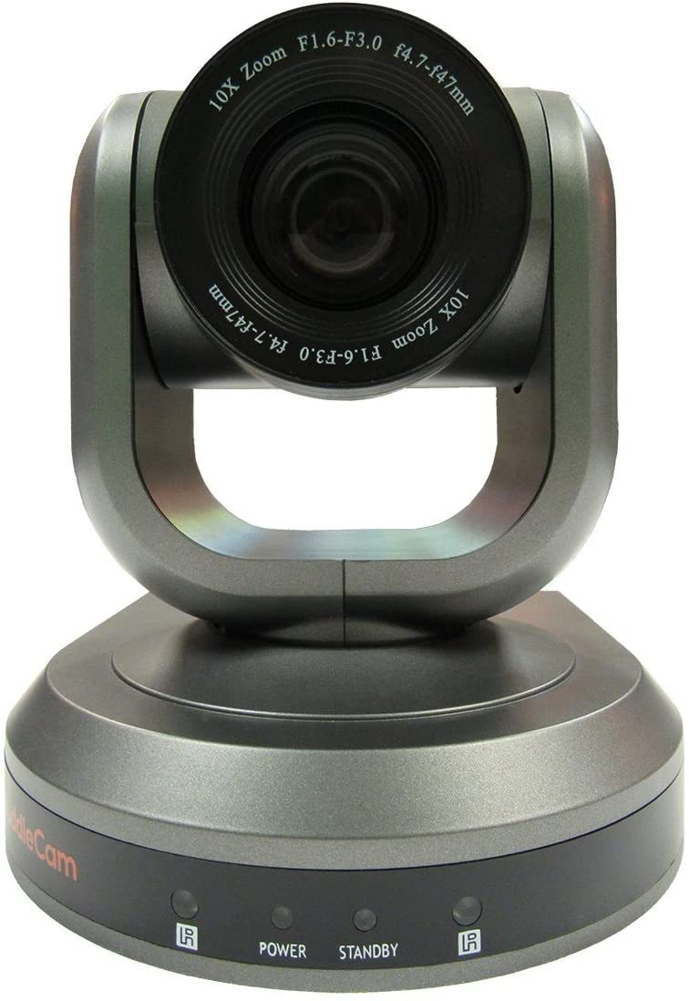 10X-GY-G3 2.1 MP 1080p PTZ Camera, 10x Optical Zoom, 30 fps, Gray