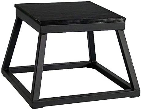 "Ader Plyometric Platform Box Set- 12"", 18"" & 24"" Black"