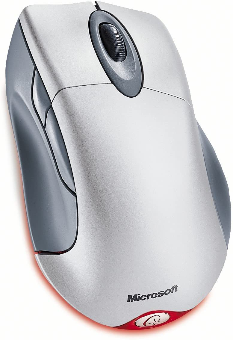 Wireless IntelliMouse Explorer - Mouse - optical - 5 button(s) - wireless - USB wireless receiver - metallic gray