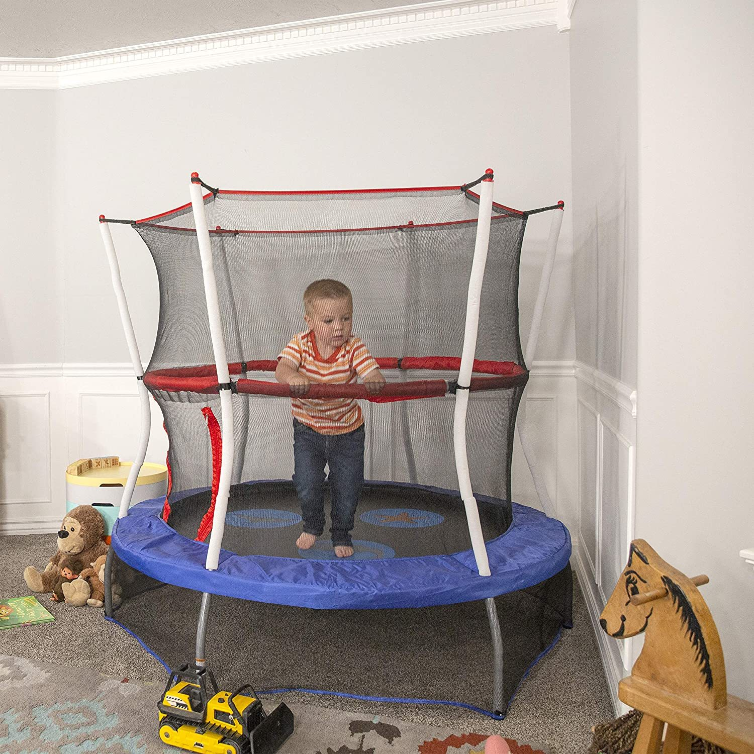 Mini Trampoline with Enclosure Net