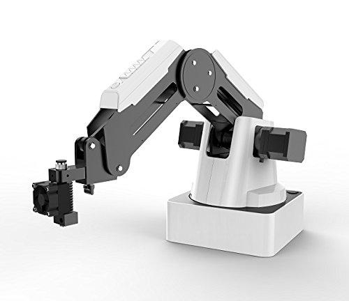 Magician Educational Programming Robot, 4-axis Robot Arm with 3D Printer, Pen Holder, Suction Cap, Gripper Heads for K12 or STEAM Education - Basic Version