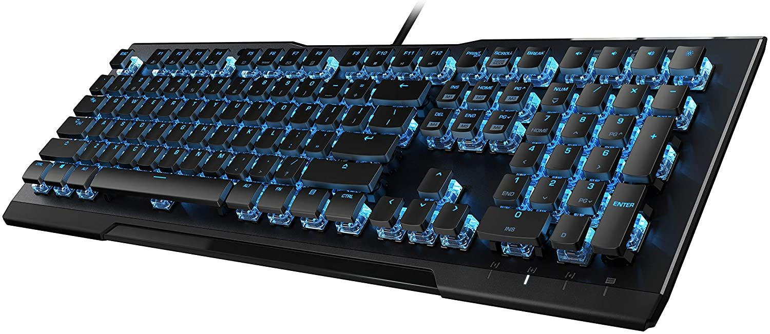 Vulcan 80 - Mechanical Gaming Keyboard, Titan Switches, Durable Design, Anodized Black Aluminum Back Plate