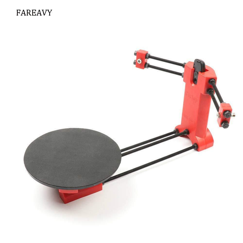 FAREAVY 3D scanners Open Source Laser 3D Scanner kit for 3D Printer