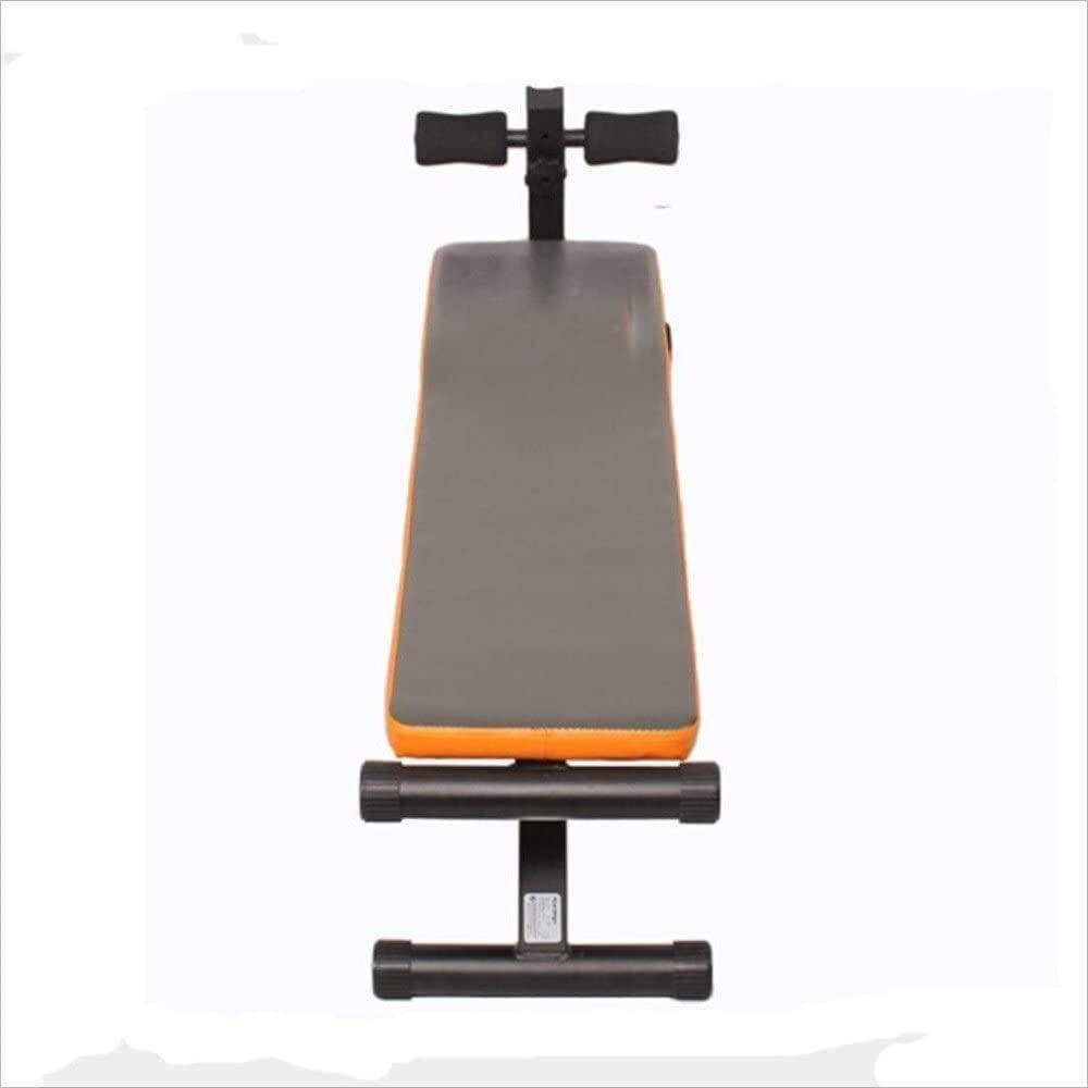 Sit-Up Bench Adjustable Weight Bench Supine Board Sit-up Fitness Equipment Home Abdomen Multi-Function Abdominal Muscles Dumbbell Bench for Full Body Workout