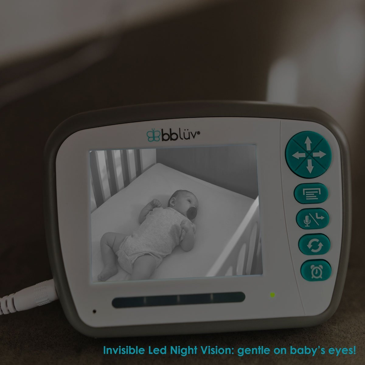 Viziö - All-in-One Wireless Digital Video Baby Monitor with 3.3 Inch Color LCD Screen and zoom
