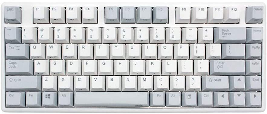 r NIZ Plum 84 Pro 84-Keys Electro-Capacitive Bluetooth Keyboard Cherry MX Switch for Windows PC Gamers (84-Key)