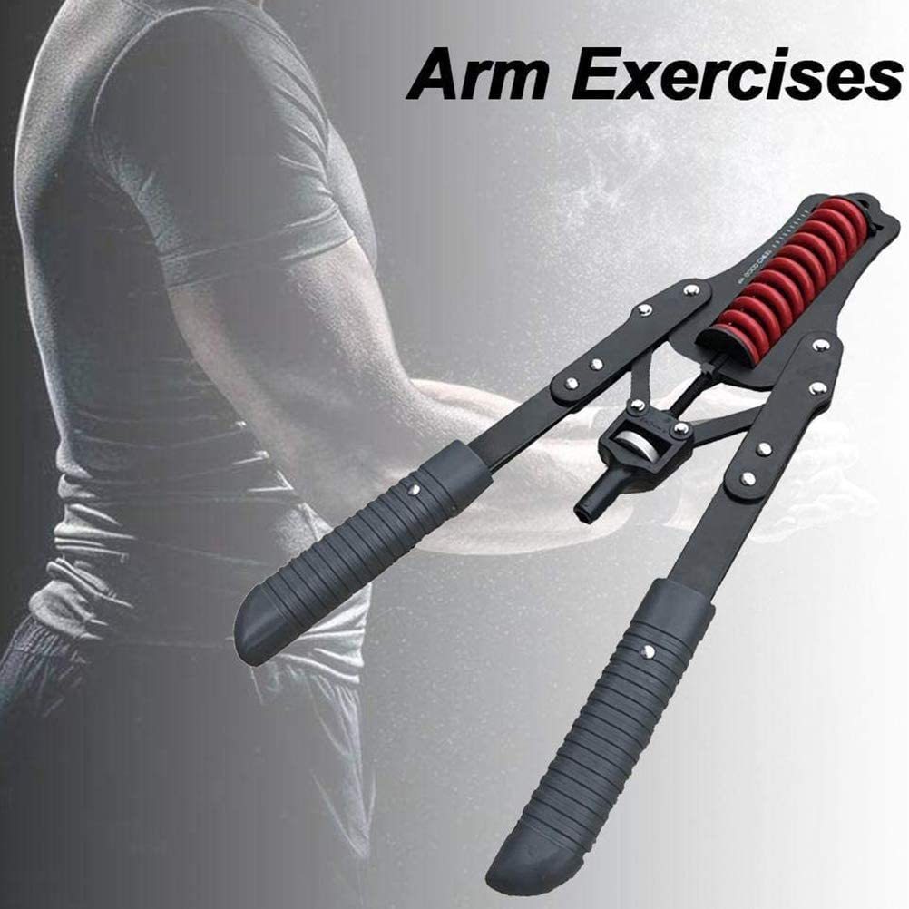 Fitness Equipment for Men Adjustable Arm Trainer Power Twister Arm Forearm Exerciser Chest Expander Arm Chest Muscle Training