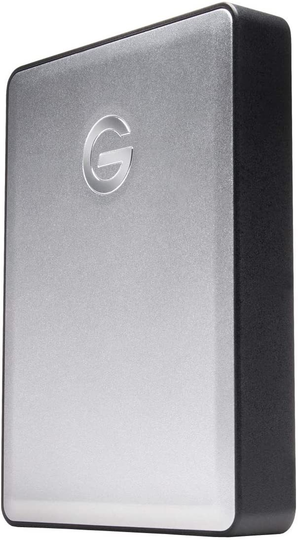 4TB G-DRIVE Mobile USB 3.0 Portable External Hard Drive, Silver - 0G06074