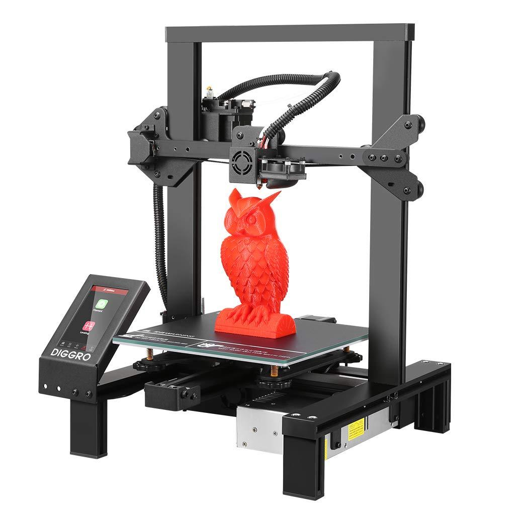 Alpha-3 High Precision 3D Printer with 4.3 inch Touch Screen Large Build Volume Filament Run-Out Detection