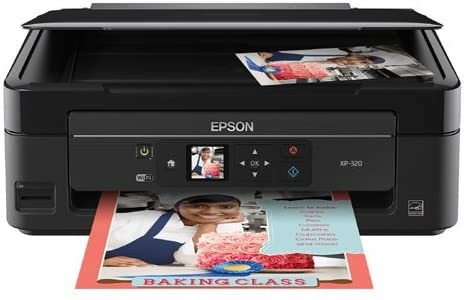 Expression Home XP-320 Wireless Color Photo Printer with Scanner & Copier