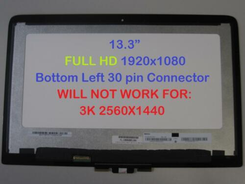 "HP Spectre X360 13-4107la 13-4105dx 13.3"" FHD Touch LED LCD Screen assembly"