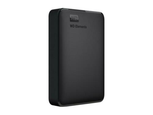 WD WDBU6Y0040BBK-WESN 4TB Elements USB 3.0 High-Capacity Portable Hard Drive for