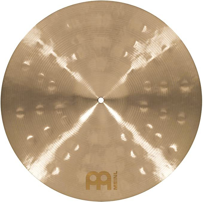 "Meinl Cymbals Byzance Made in Turkey — Hand Hammered B20 Bronze, 2-Year Warranty, 18"" Extra Dry Dual Crash, inch (B18DUC)"