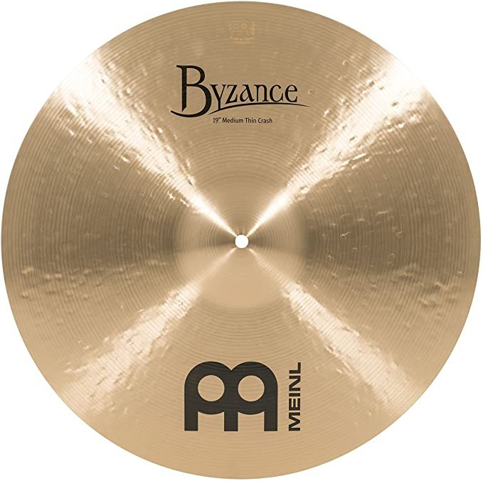 Meinl Cymbals B19MTC Byzance 19-Inch Medium Thin Traditional Crash Cymbal (VIDEO)