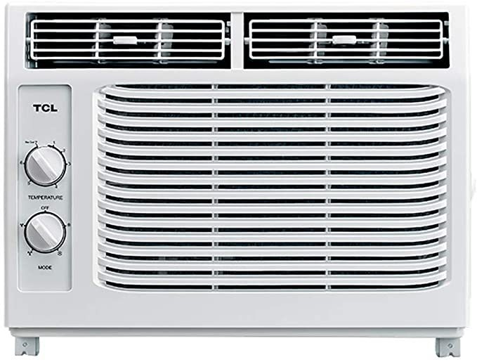 TCL 5,000 BTU 115V Window-Mounted Air Conditioner with Mechanical Controls (Renewed)