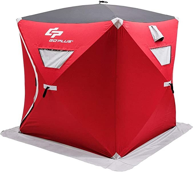 CHOOSEandBUY 3-Person Portable Pop-up Ice Shelter Fishing Tent with Bag New Perfect Beautiful Classic Elegant Useful