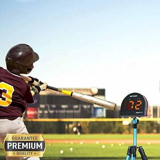 NET PLAYZ Smart Baseball Trainer Combo with 1 Set Sport Radar