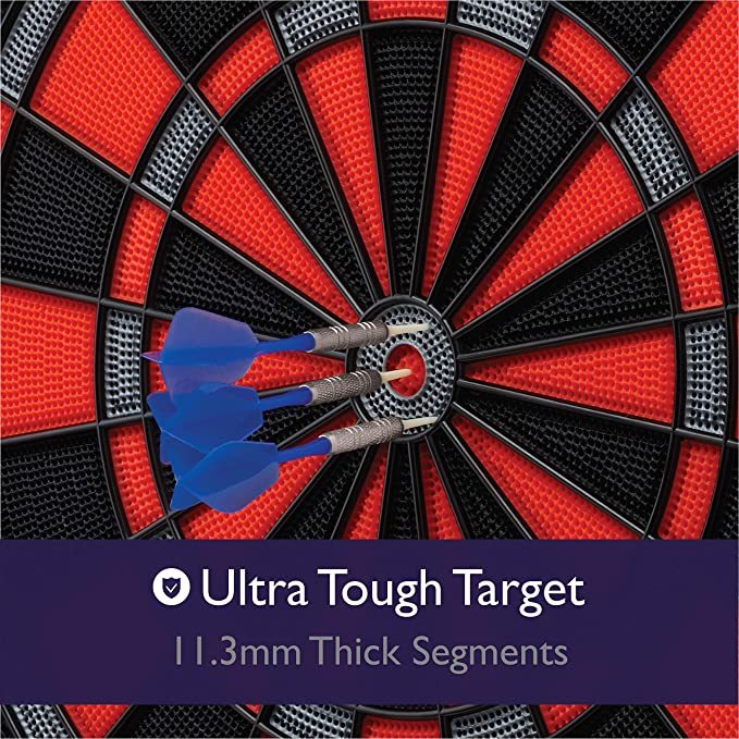 Viper 800 Electronic Dartboard, Extended Scoreboard For Spanish Cricket, Regulation Size for Tournament Play, Locking Segment Holes For Reduced Bounce Outs, Team Multiplayer for 16 Players